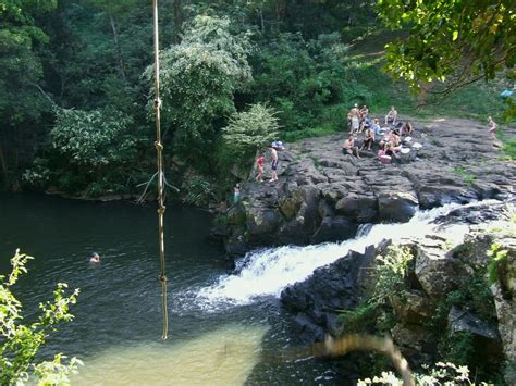 rope swing gold coast panoramio photo of the awesome rope swing and swimming