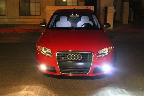 hid fog lights on a b7 audi a4 and s4 nick s car