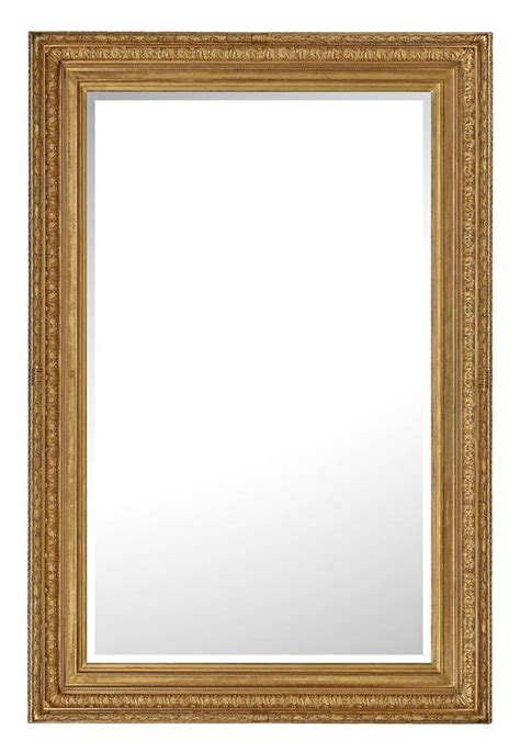 beaded frame mirror this generous scaled beveled mirror large scale french 19th century louis xvi style giltwood