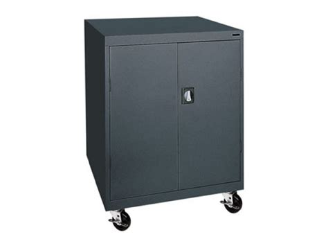 Portable Storage Cabinets by Mobile Steel Storage Cabinet 46 Quot Wx24 Quot Dx48 Quot H Mobile