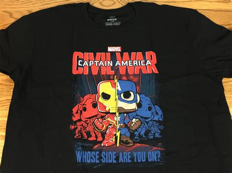 Funko Pop Tees Captain America Marvel Captain America 3 Civil War marvel collector corps april 2016 subscription box review captain america civil war hello