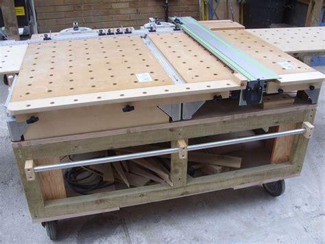 mft bench mft 3 front of table extension flush guide rail