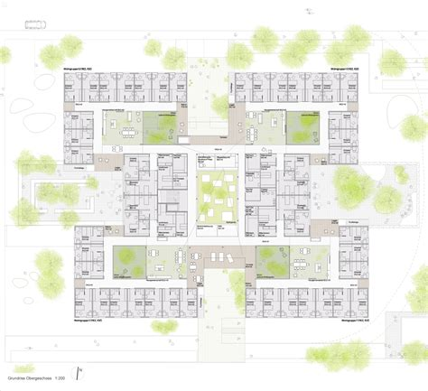 nursing home floor plans gallery of peter rosegger nursing home dietger wissounig