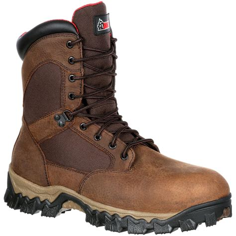 rocky boots rocky alphaforce composite toe waterproof comfort work boot