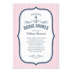 nautical wedding shower nautical bridal shower invitations 5 quot x 7 quot invitation card