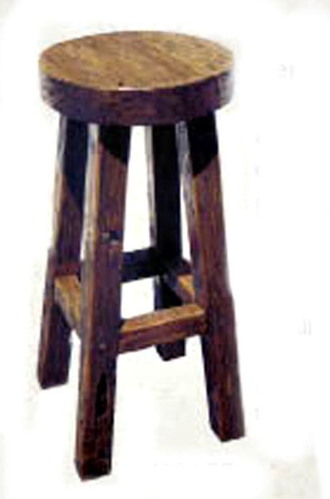 Rustic Outdoor Bar Stools by Rustic Bar Stool Furniture Backless