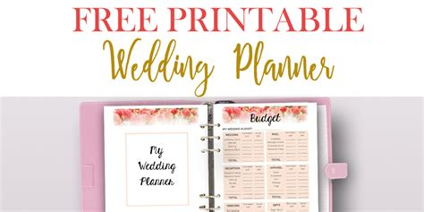 Wedding Planner Free by Free Printable Wedding Planner For Wedding Binder