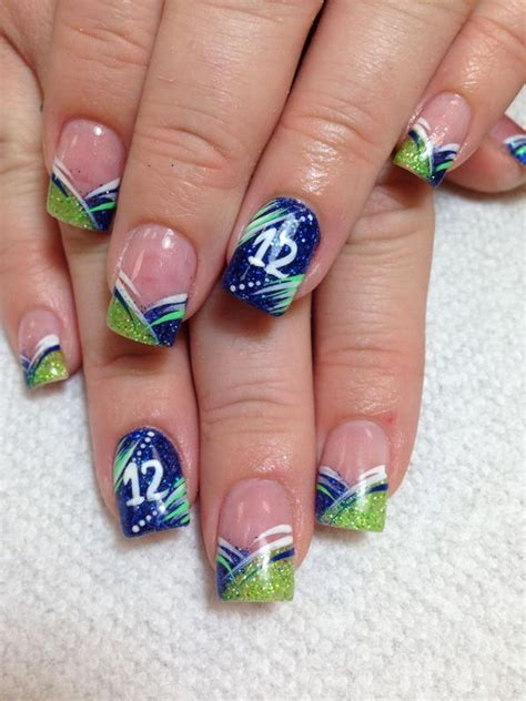 Cool Fingernail by 25 Cool Football Nail Designs Hative