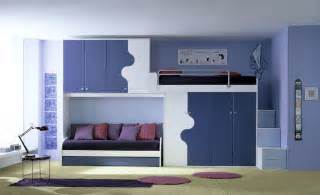Ergonomic kids bedroom designs for two children from linead