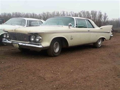 61 Chrysler Imperial by 1961 Chrysler Imperial For Sale Classiccars Cc 740066