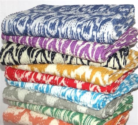 Cheap Handmade Quilts - wholesale lots kantha quilts
