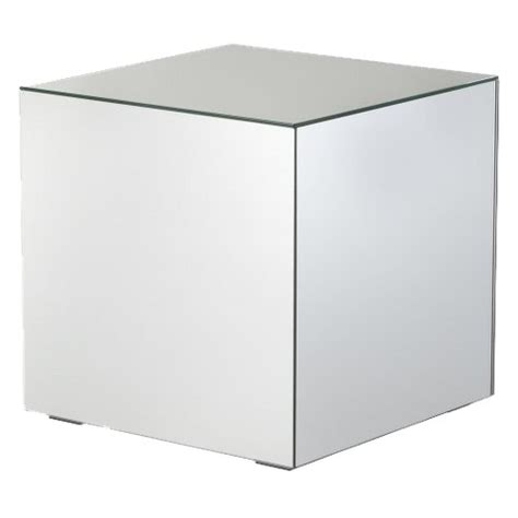 Target Mirrored Accent Table by Mirrored Cube Living Room Accent Side End Table Target