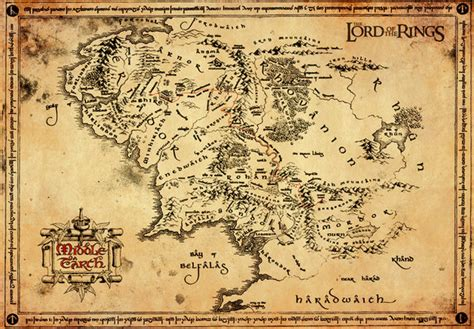 lord of the rings maps lord of the rings