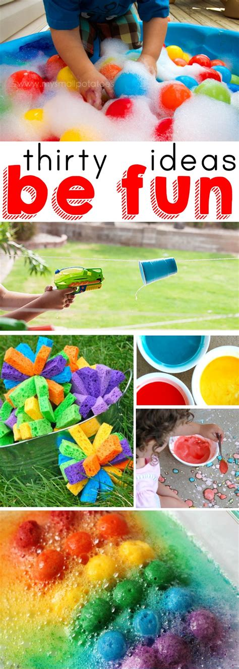 summer ideas to keep the busy activities