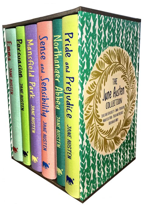 jane austen collection pride the jane austen collection 6 books box set pride and prejudice emma mansfield ebay