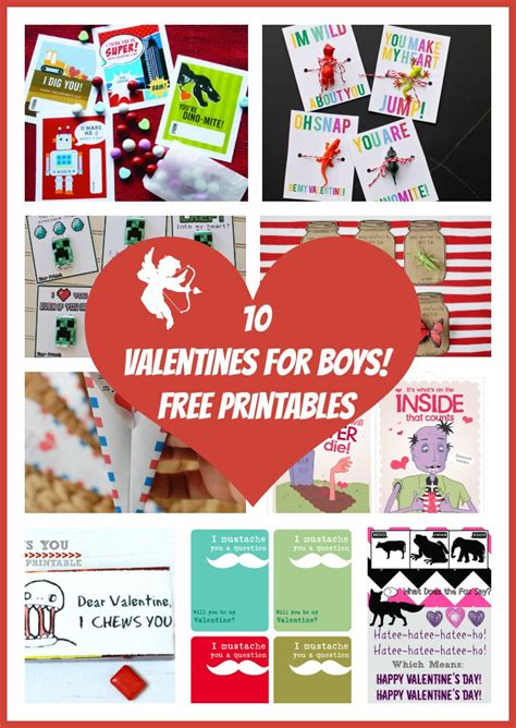 valentines boys 10 valentines for boys free printables rays of bliss