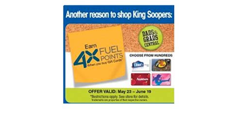 Gift Cards At King Soopers - gift cards at king soopers lamoureph blog