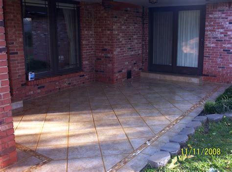 backyard tile ideas triyae cement tiles for backyard various design