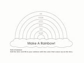 Rainbow Template by Rainbow Template Rainbow Or Wizard Of Oz