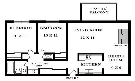 simple house plan with 2 bedrooms datenlabor info