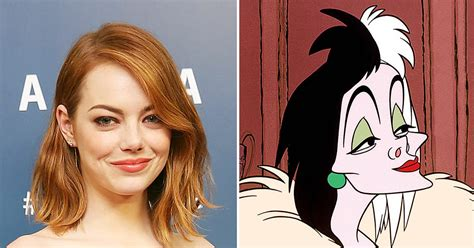 emma stone disney emma stone as cruella and more live action fairy tales