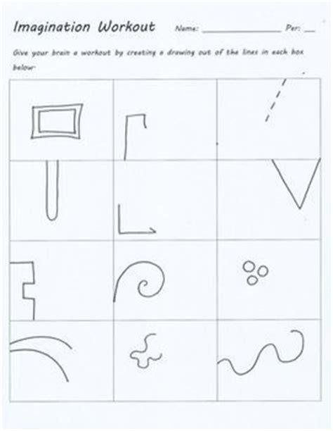 doodle lesson plan imagination workout creativity test drawing sub lesson