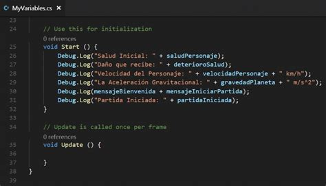 tutorial unity visual studio unity tutorial csharp04 variables10 ackosmic games