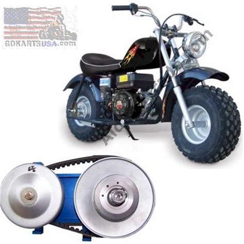 doodlebug torque converter baja heat 6 5 mb200 warrior mini bike tc2 torque