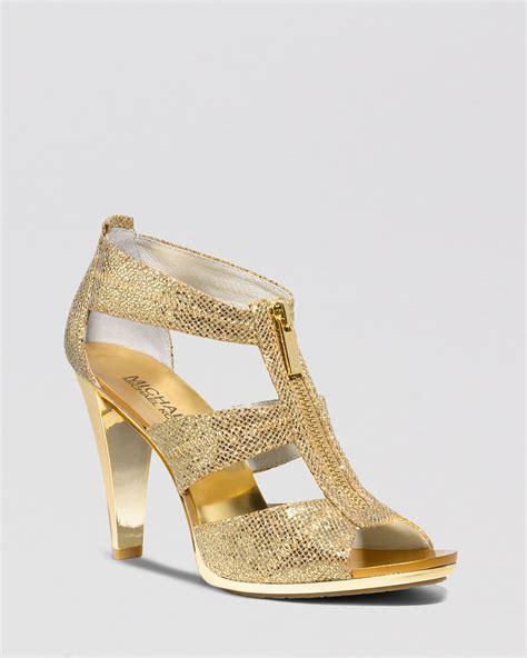 michael kors shoes high heels michael michael kors open toe platform evening sandals