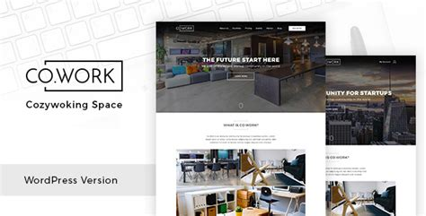 gemer wordpress theme free templates download open cowork open office creative space wordpress theme