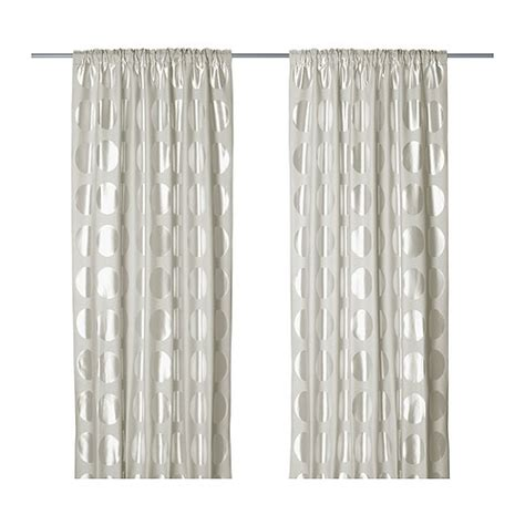 do curtains come in pairs ninni rund curtains 1 pair ikea