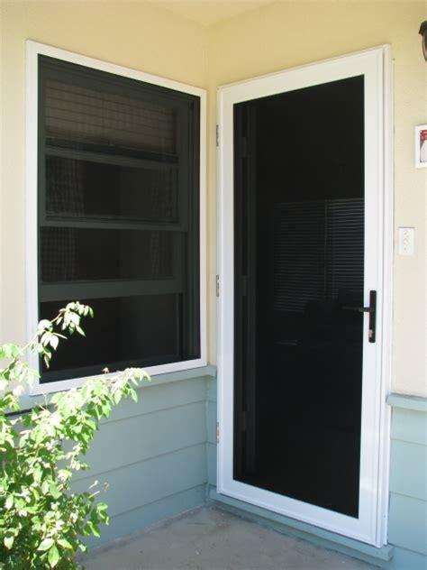 Security Screen Door Installation by Crimeshield