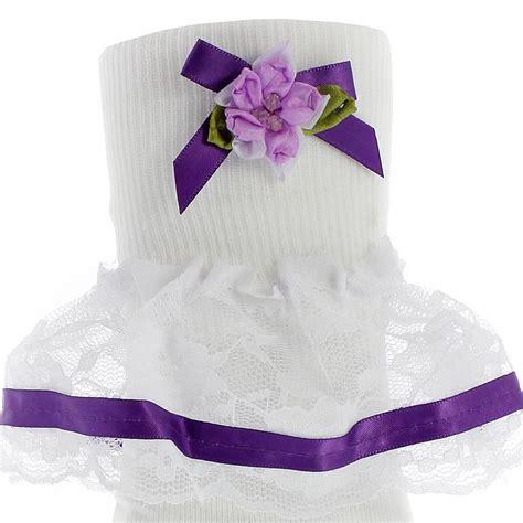 Lace Ribbon Socks baby lace ribbon bobby socks ebay