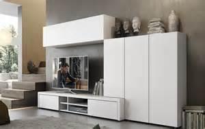 Muebles De Salon Lacados En Blanco