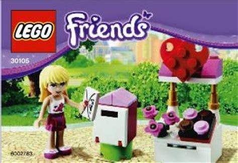 Lego Polybag Friends Mailbox Set 30105 friends bricks lego friends polybags