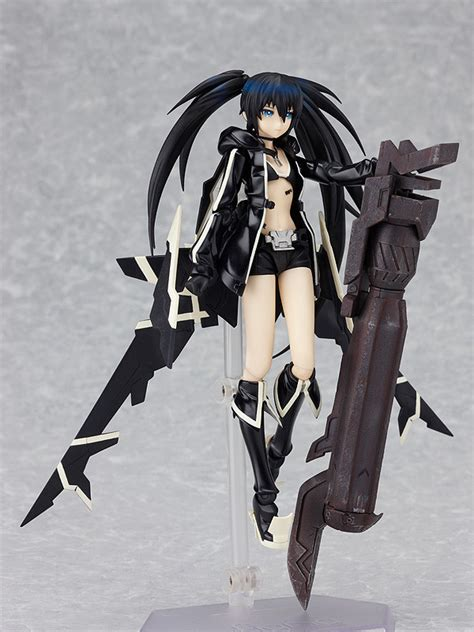 Figma Black Rock Shooter Dan Miku figma brs2035 black rock shooter psp ver non scale pre painted pvc figure japanese