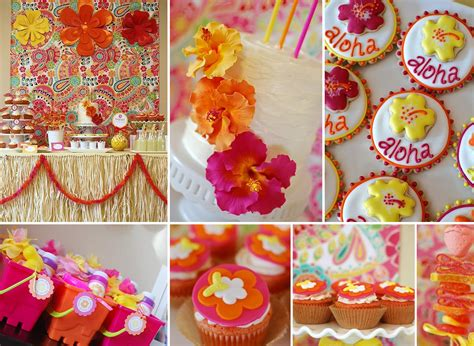 birthday themes hawaii party cupcakes kids party hub summer party themes and