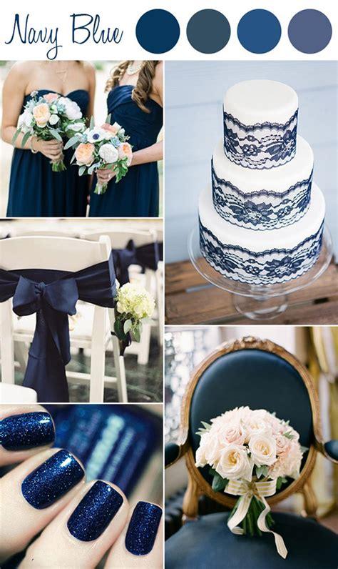 perfect shades  blue wedding color ideas  wedding