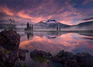 tranquility tranquility sparks lake oregon marc adamus photography