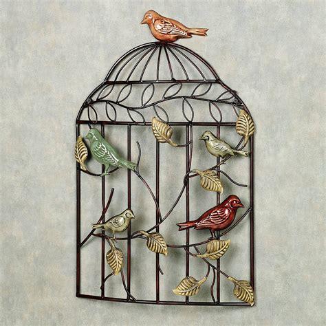 wall decor birds 20 ideas of bird metal wall art