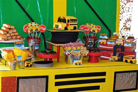 themed party bus 78 best images about school bus theme party ideas on