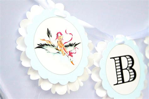 stork themed baby shower decorations stork express airline baby shower theme baby shower