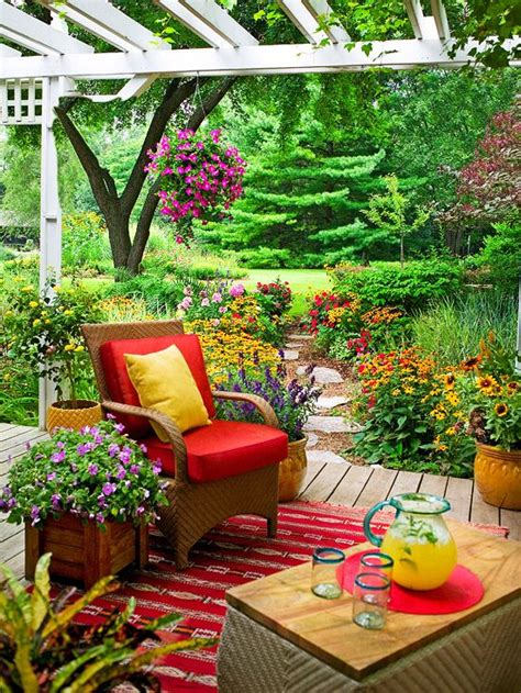 patio decoration ideas 20 bright spring terrace and patio d 233 cor ideas digsdigs
