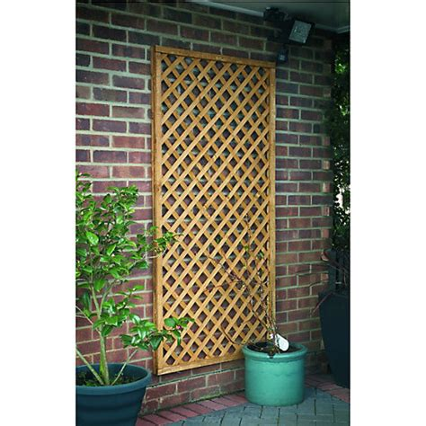 Wickes Trellis wickes fence top trellis lattice timber 1 83m x 900mm wickes co uk