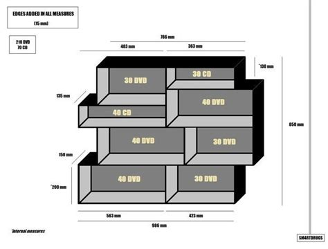 Cd Shelf Plans by Dvd Rack Plans Woodworking Projects Plans