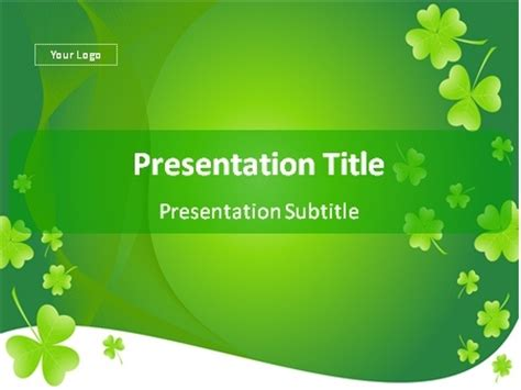 Download St Patrick S Day Background Powerpoint Template St Powerpoint