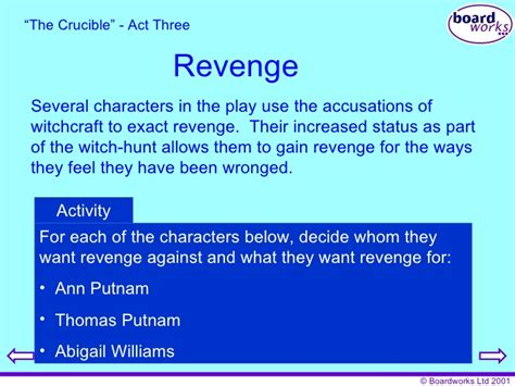 themes in the crucible revenge the crucible revenge theme essay