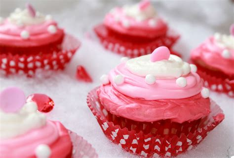 valentines day muffins easy valentines day hugs kisses cupcakes recipe simply