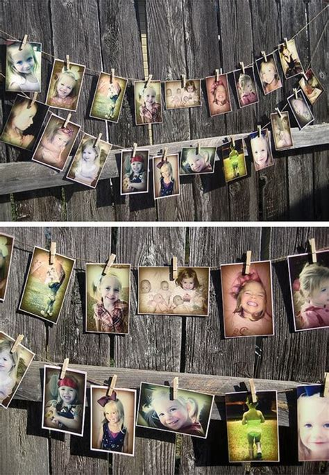 creative ways to display photos without frames 7 ways to create display a photo collage