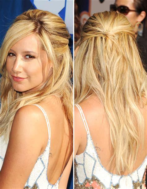 Haare Hochstecken by Haare Hochstecken Half Up Hair